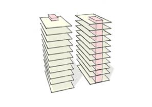 SVG Hochhaus - Entwurfskonzept - konventioneller Bürobau