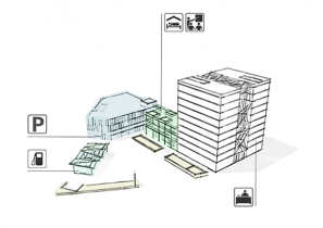 SVG Hochhaus - Nutzungskonzept